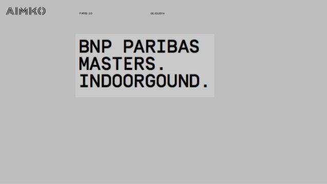 "Paris 2.0 : ""BNPP Masters"" Alexis Vallegeas Aimko + Lionel Dubois Federation Francaise de Tennis"