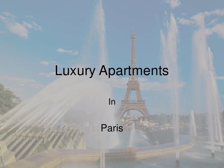For sale pure investment Apart hotel Central Paris - Eiffel Tower