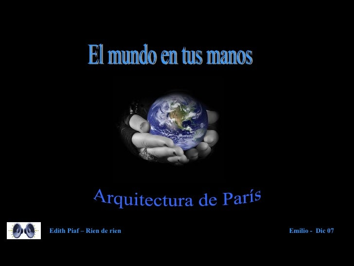Paris Arquitectura Ms