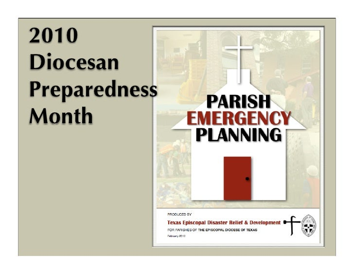 Parish Emergency Planning