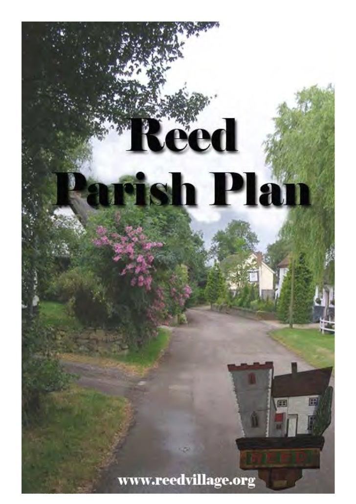 Reed Parish Plan   1