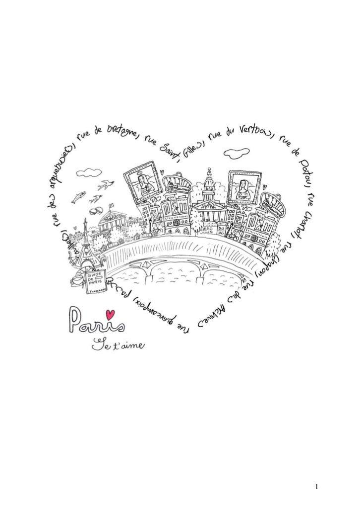 Paris je t'aime #2 = parcours artistique en forme de coeur dans paris