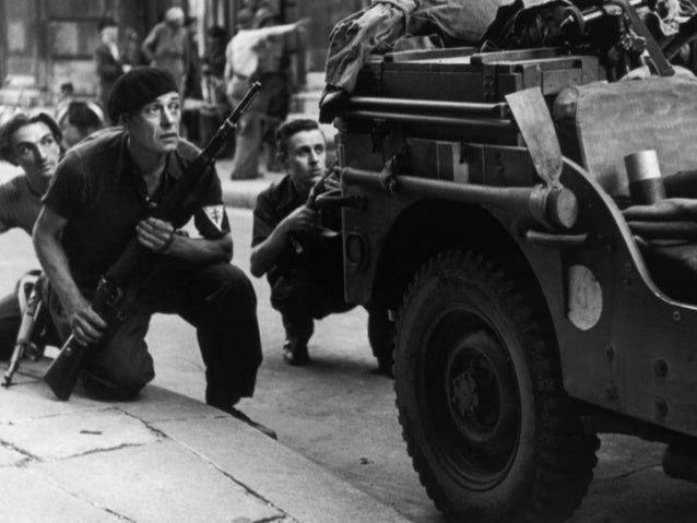 Paris Liberated 70 Years ago, Photos by Robert Capa