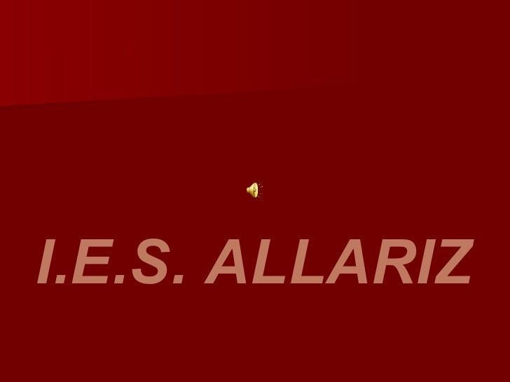 I.E.S. ALLARIZ