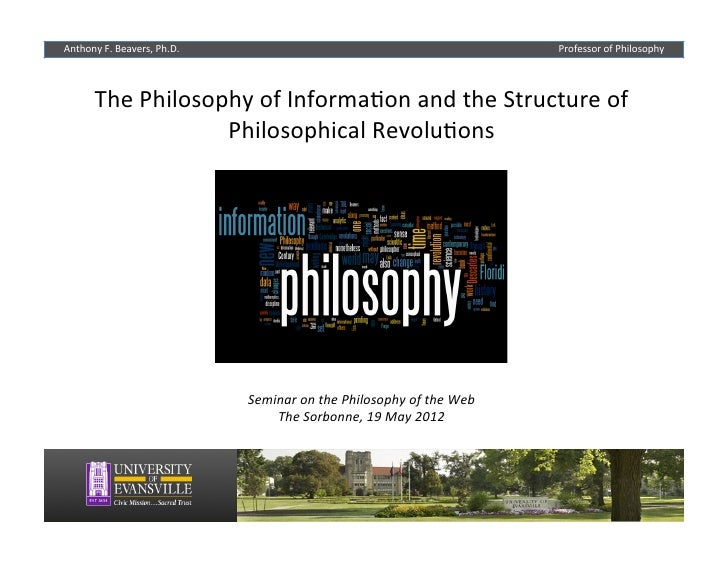 The Philosophy of Information and the Structure of Philosophical Revolutions