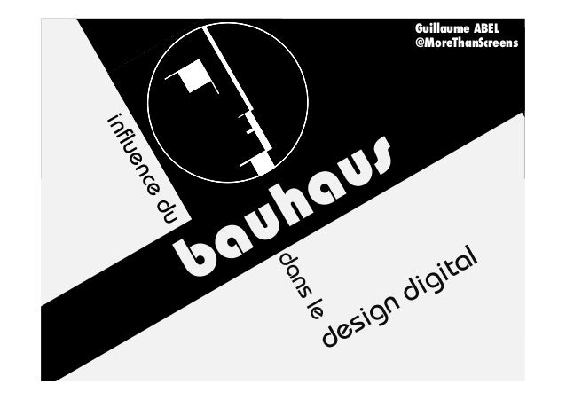 paris web 2012 influence du bauhaus dans le design digital par l 39 ex. Black Bedroom Furniture Sets. Home Design Ideas