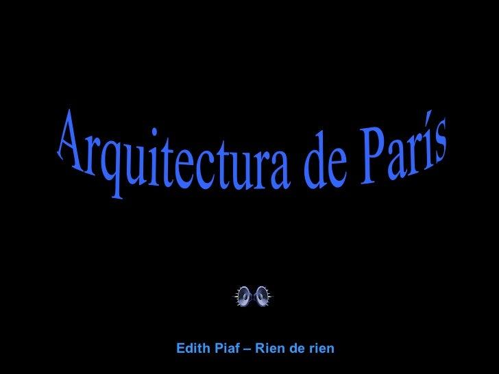 Paris y sus monumentos por dhv