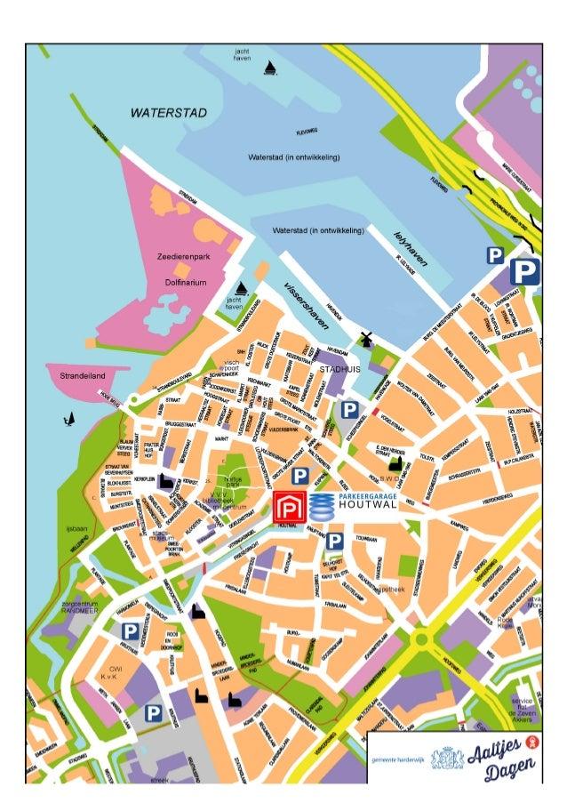 Parkeren Houtwal parkeergarage Harderwijk, Toerisme Aaltjesdagen 2014