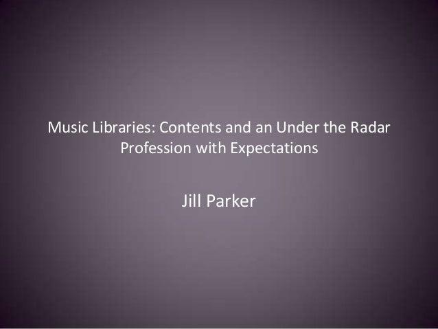 Parker musiclib401