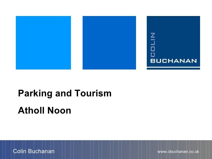 Parking and tourism presentation