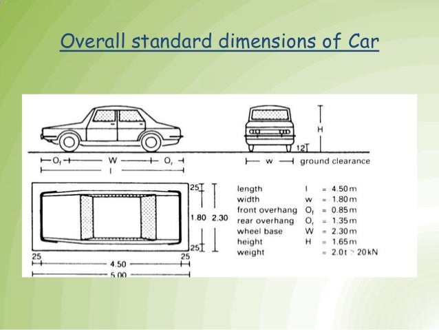 Parking final for What is the standard size for a 2 car garage