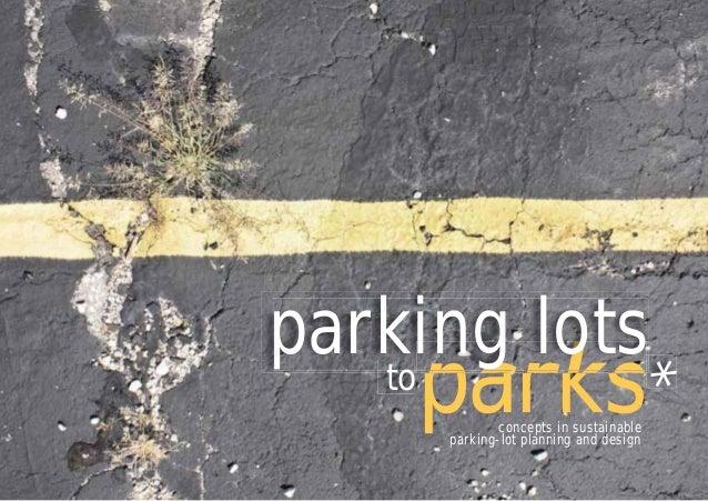 Parking Lots to Parks Kansas City