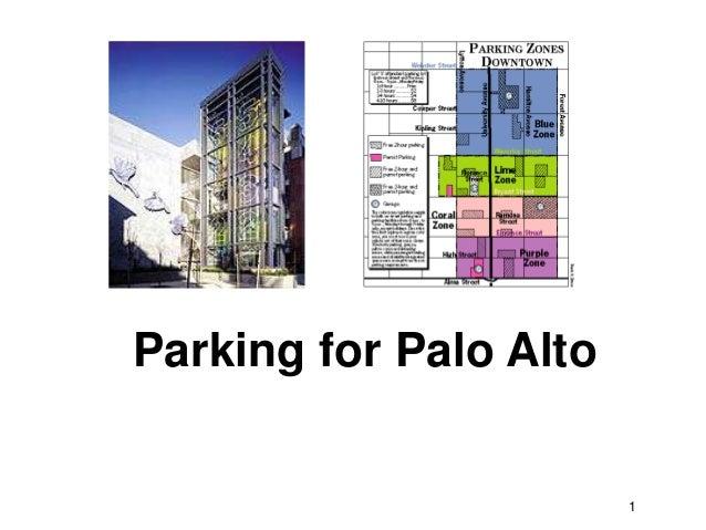 Parking for Palo Alto                        1
