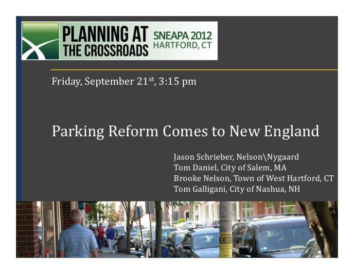Parking reform comes to New England