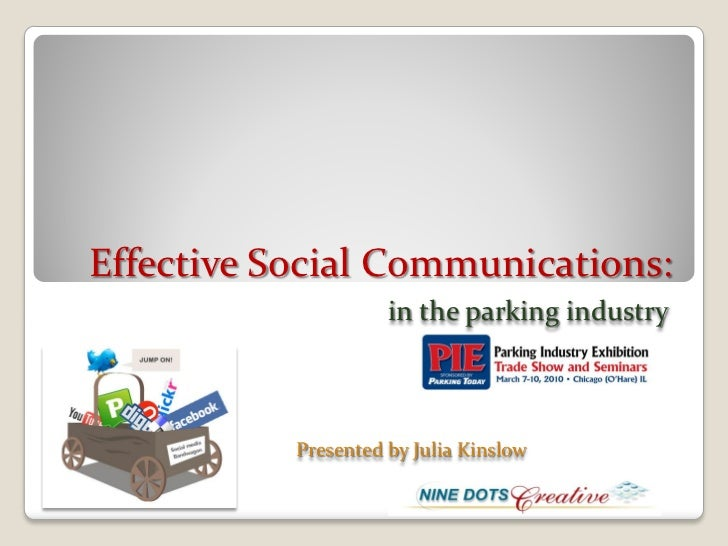 Parking today PIE webinar presentation 3 03-10