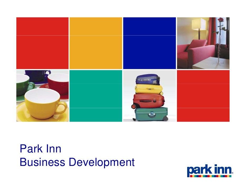 Park inn business development brief