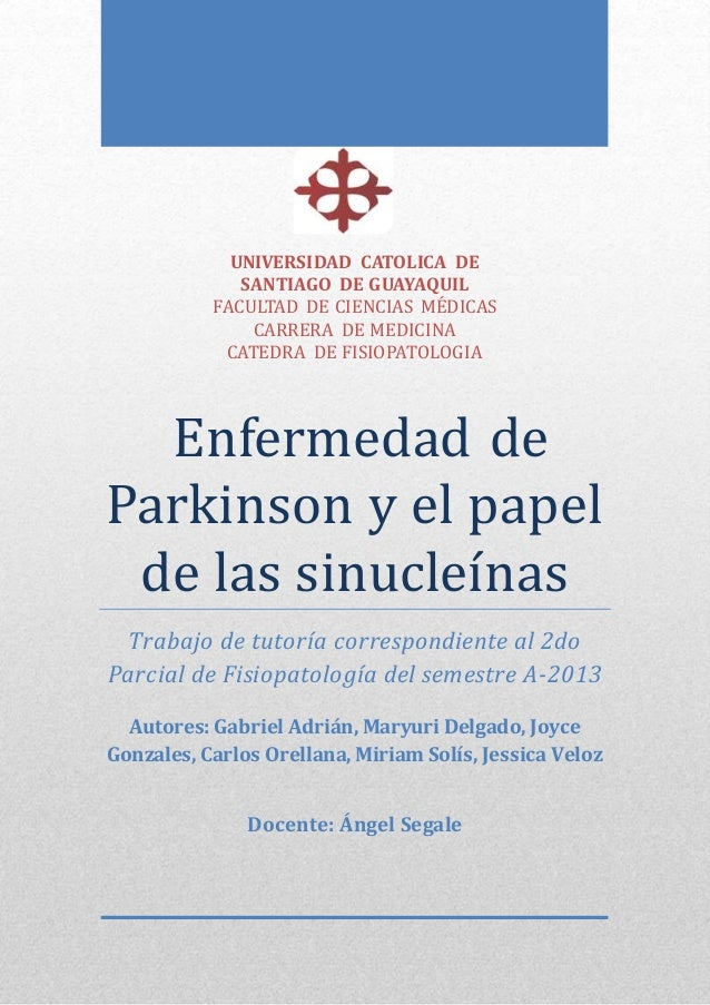 UNIVERSIDAD CATOLICA DE SANTIAGO DE GUAYAQUIL FACULTAD DE CIENCIAS MEDICAS CARRERA DE MEDICINA CATEDRA DE FISIOPATOLOGIA E...