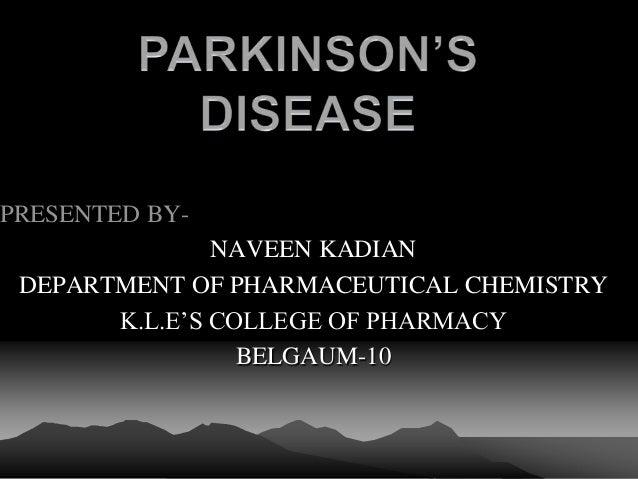 Parkinson diseases