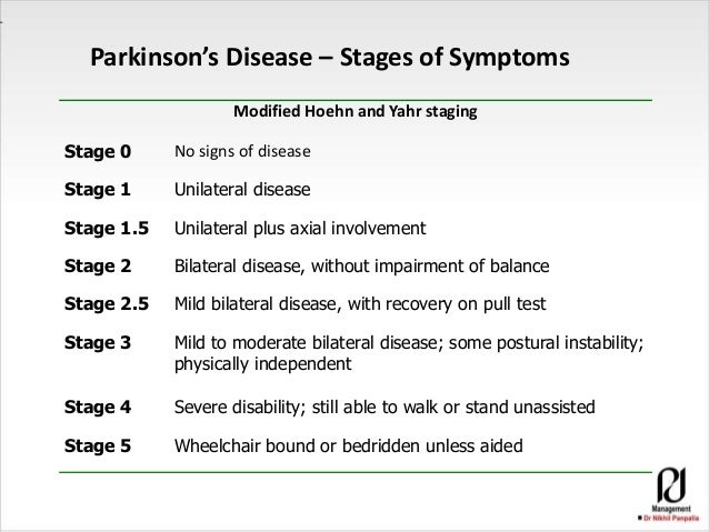 an overview of the parkinsons disease and the physical disabilities