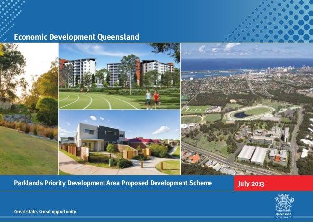 Parklands PDA Proposed Development Scheme