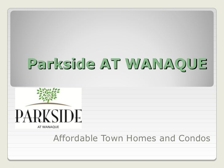 Parkside At Wanaque