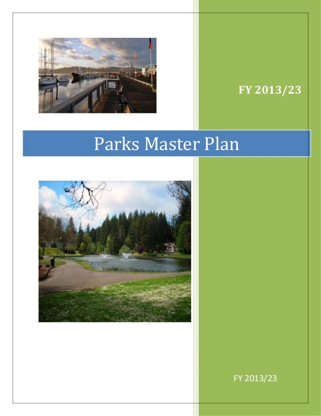 FY 2013/23  Parks Master Plan  FY 2013/23