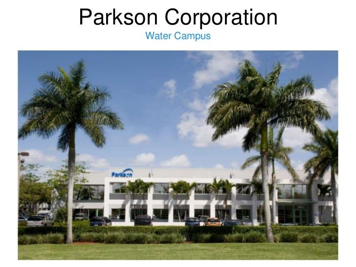 Parkson CorporationWater Campus<br />