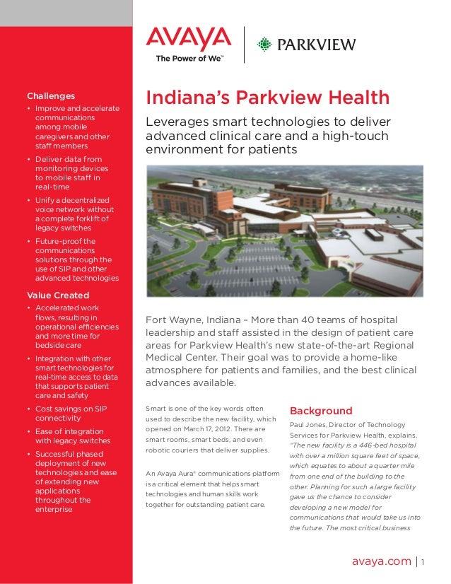 Indiana's Parkview Health