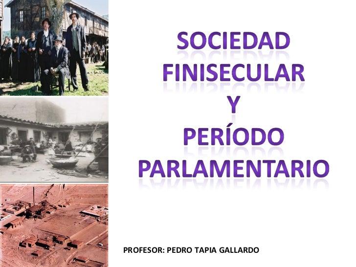 PROFESOR: PEDRO TAPIA GALLARDO