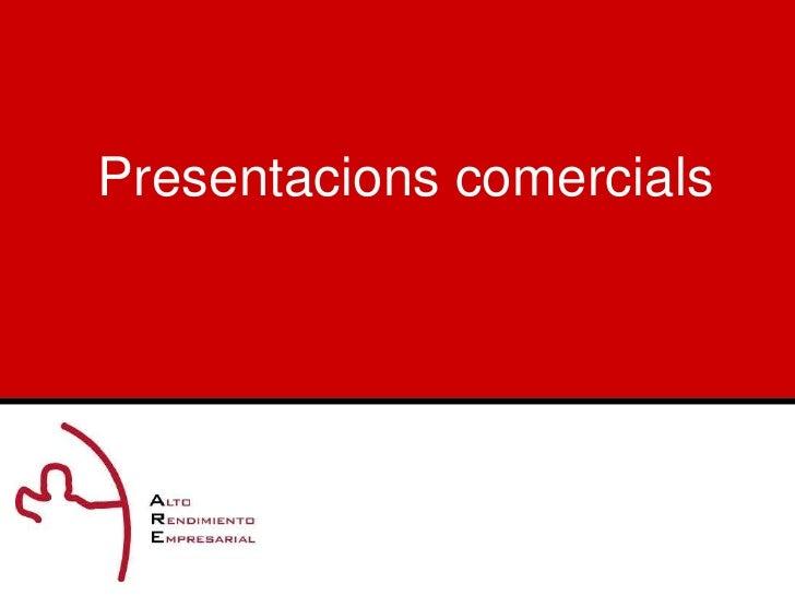 Presentacionscomercials<br />