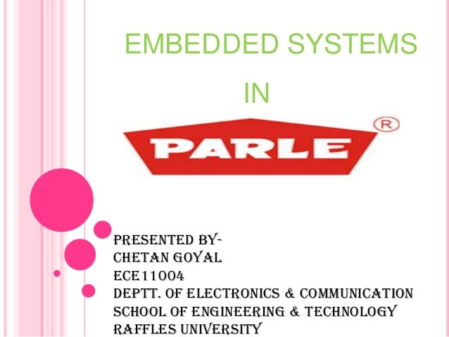 Technology Used in parle biscuits pvt ltd neemrana