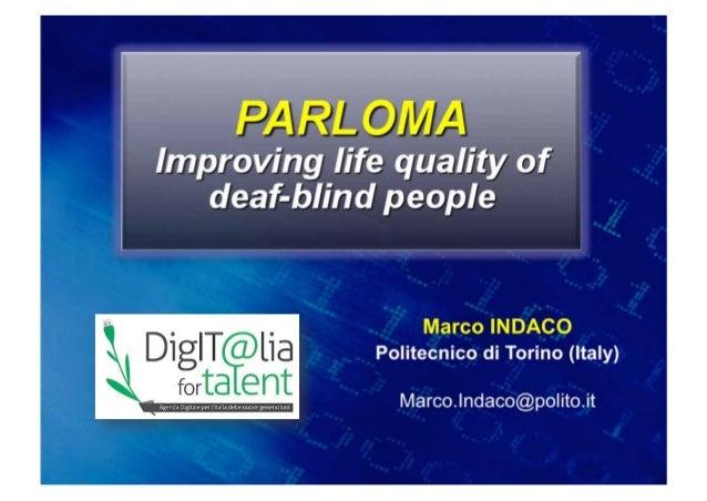Marco INDACOPolitecnico di Torino (Italy)  Marco.Indaco@polito.it