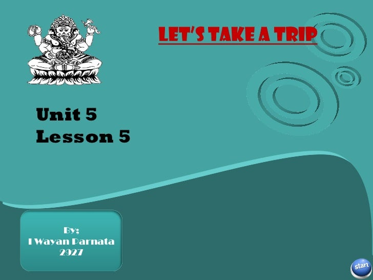 Unit 5 Lesson 5 Subtitle here By; I Wayan Parnata 2927