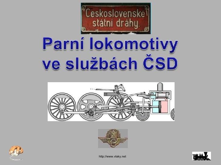 Parní lokomotivy čsd