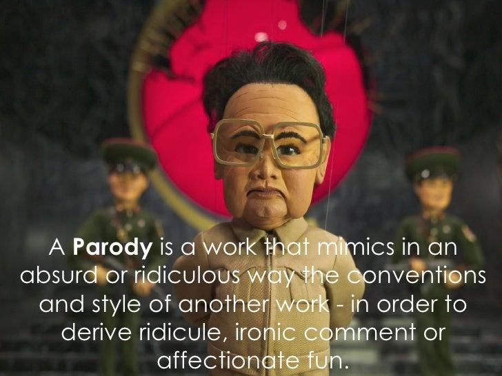 Parody & Pastiche