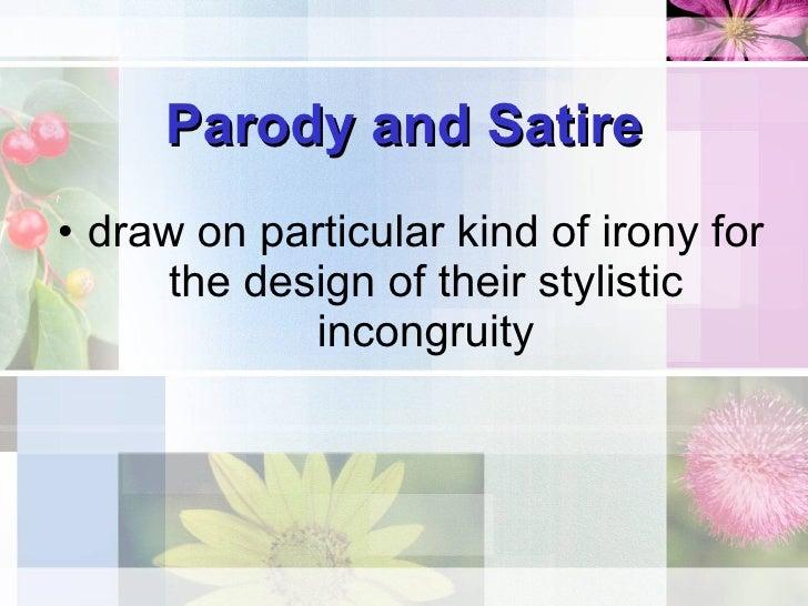 Parody Stylistics