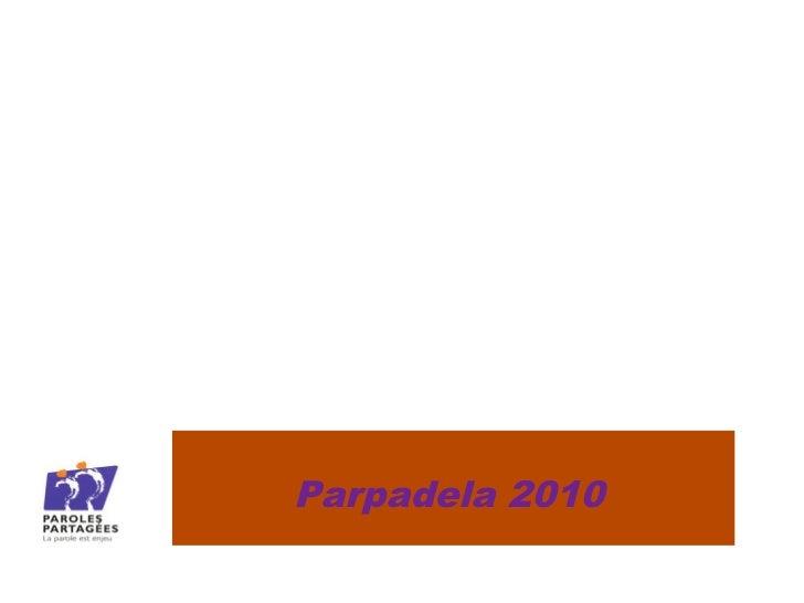 PARPADELA - GrundtvigParpadela 2010