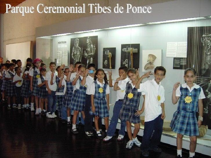 Parque Ceremonial Tibes en Ponce