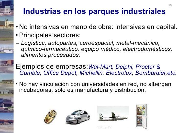 Parques industriales en m xico for Electrodomesticos industriales segunda mano
