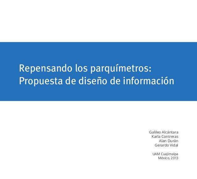 Repensando los parquímetros_Reporte_MADIC_UAM-C