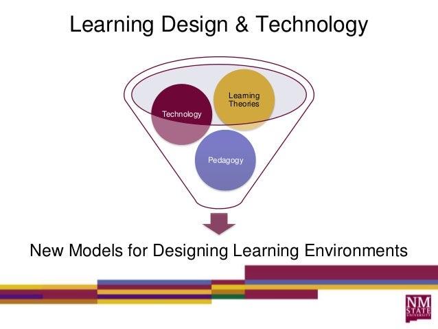 Learning Design & TechnologyNew Models for Designing Learning EnvironmentsPedagogyTechnologyLearningTheories
