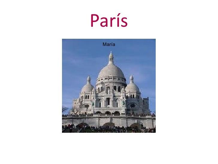 París María