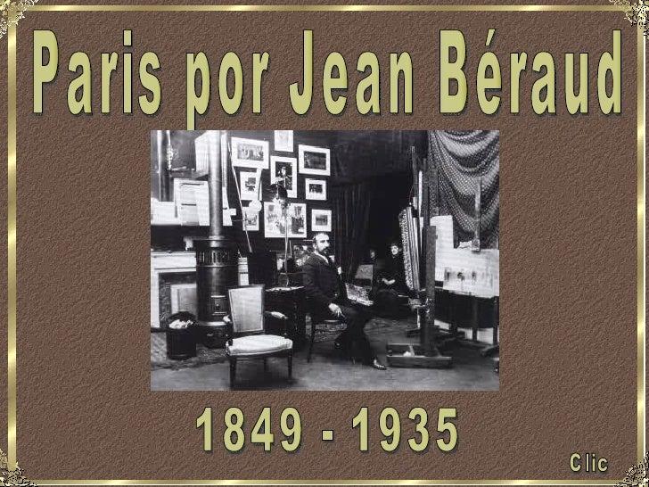 París según Jean Beraud