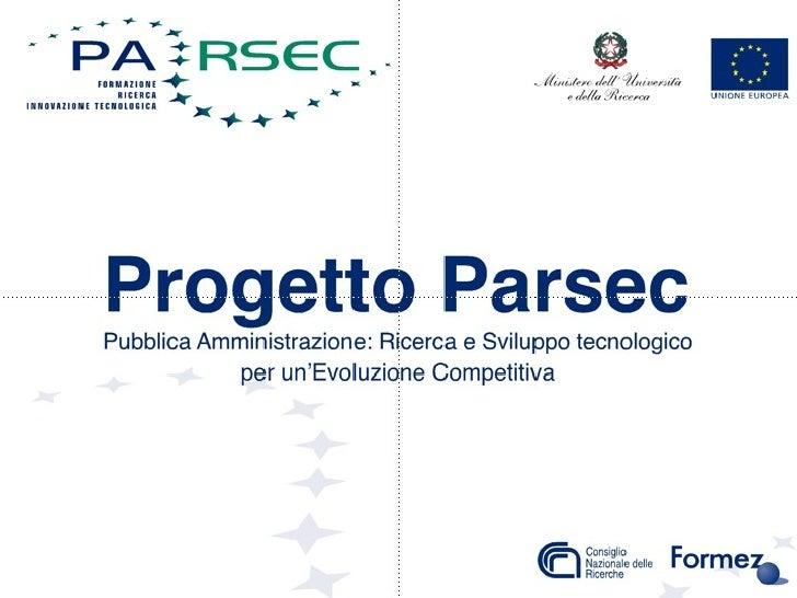Progetto Parsec
