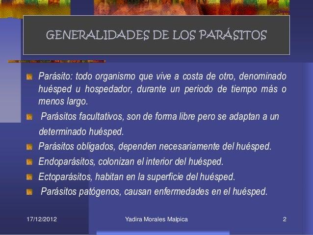 Las larvas de los parásitos bajo la piel