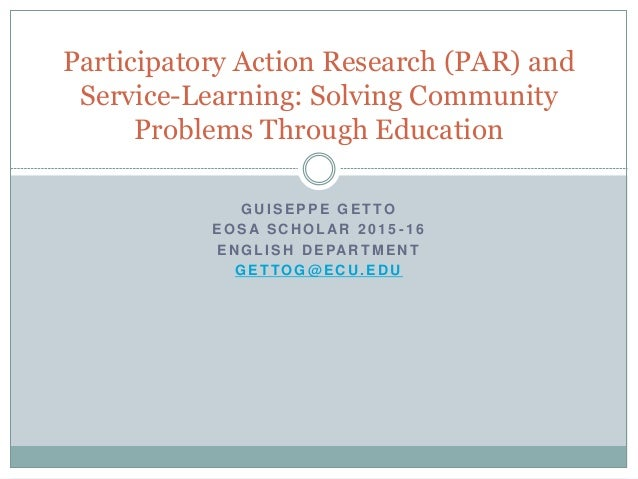 Issues in Education Research: Problems and Possibilities