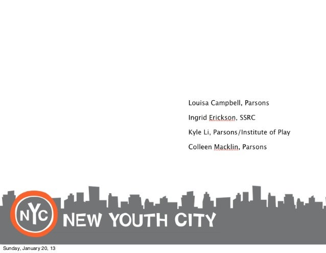 Proto-Hive, New Youth City Learning Network by Parsons The New School for Design