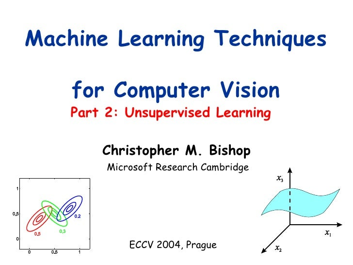 Part 2: Unsupervised Learning Machine Learning Techniques  for Computer Vision Microsoft Research Cambridge ECCV 2004, Pra...