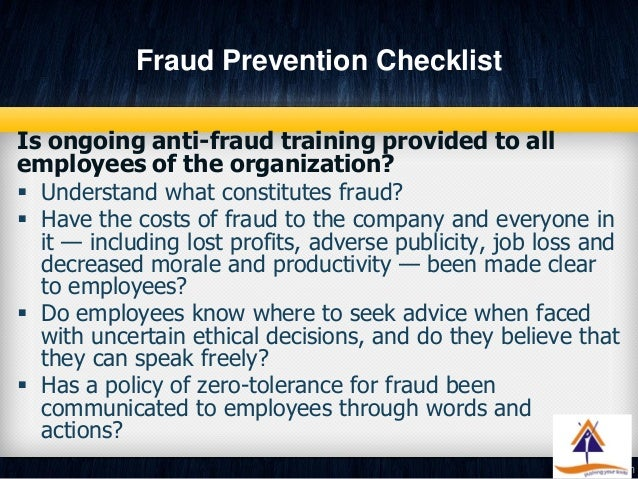 impact and prevention of inventory fraud Though fraud prevention may not be a high-priority for businesses fraud: risks, impacts, and prevention fraud state taxes and the rise of inventory.