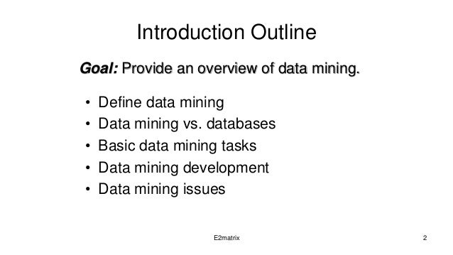 data mining thesis schedule